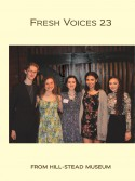 Cover Fresh Voices Poetry Competition Chapbook