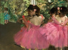 Dancers in Pink, Edgar Degas
