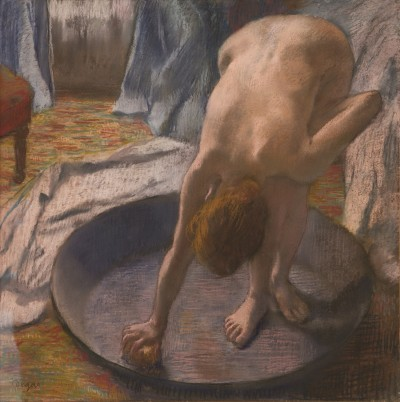 The Tub by Degas