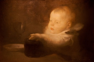Hill-Stead Paintings Child at Table
