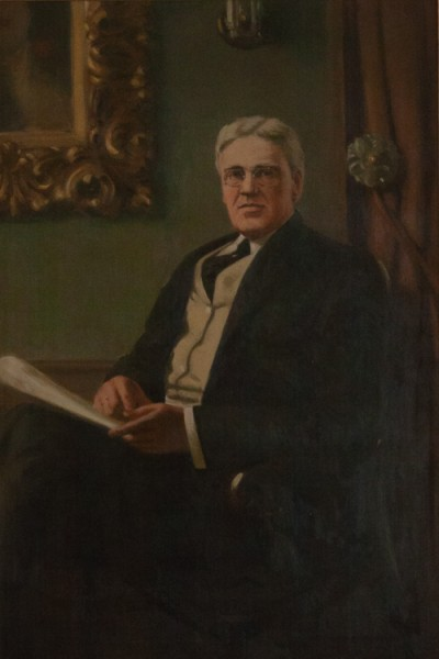 Hill-Stead Paintings Portrait Alfred Pope
