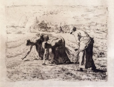 Hill-Stead Prints The Gleaners