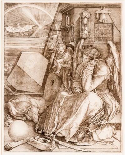 Hill-Stead Prints by Albrecht Durer-2 Melencolia