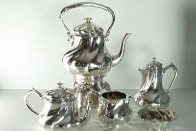 Hill-Stead Silver Odiot Tea Set