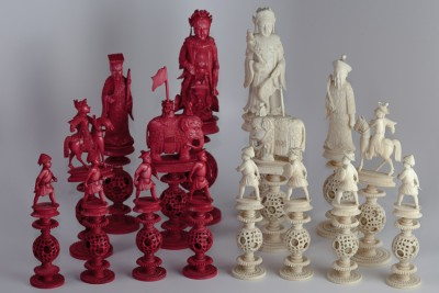 Hill-Stead Souvenirs Chess Main pieces