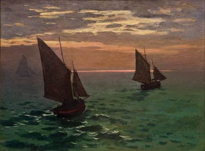 Fishing Boats by Monet